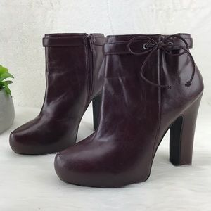 Just Fab Whitley Ankle heeled boots